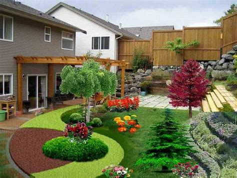 Landscape Ideas In Landscaping Ideas For Small Townhouse Front Yards Garden
