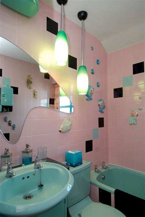 funky bathroom ideas 1950 s house air spaces visite de maison 3