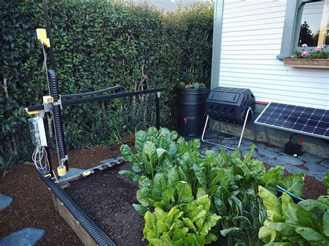 backyard agriculture the farmbot genesis brings precision agriculture to your