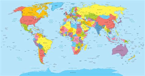 world map with country name hd carte du monde 187 vacances arts guides voyages