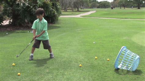 Full Golf Swing For Kids Monkeysee Videos