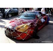 2000 Custom Toyota Celica Spider Man Car  Picture