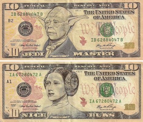 pop cultured currency art of defaced us dollars urbanist