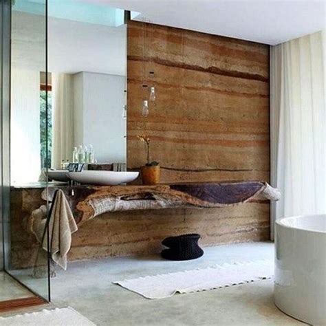 Modern Rustic Bathroom 21 Stunning Modern Rustic Interiors Messagenote
