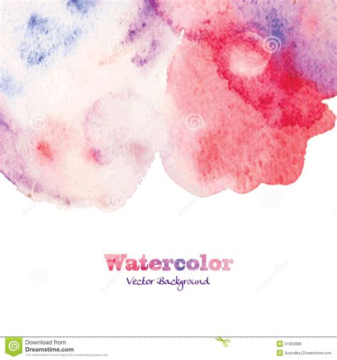 abstract painted watercolor background royalty free stock photos image 31953988