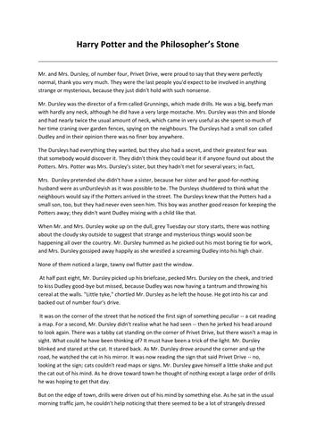 Harry Potter comprehension activities by krisgreg30