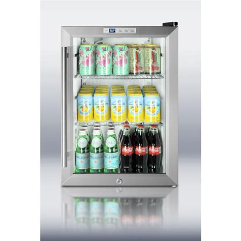 Mini Fridge Glass Door Refrigerators Appliances And Glasses On