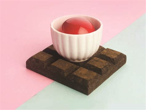 Chocolate Coaster It Or It by Chocolate Cork Coaster 171 Inhabitat Green Design