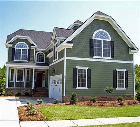 green colored houses exterior house on pinterest vinyl siding craftsman