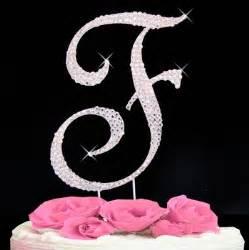 letter f cake topper