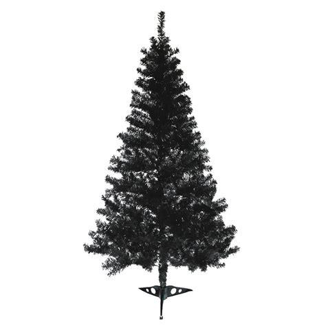 deluxe black christmas tree 6ft artificial tree xmas
