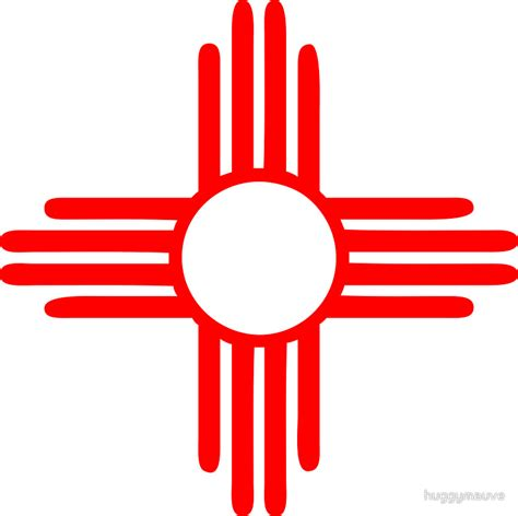 new mexico sun zia indian symbol stickers pinterest