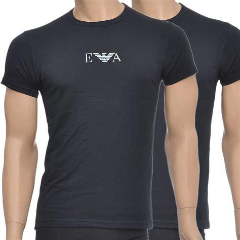 Tshirt Giorgio Armani Dealldo Merch emporio armani stretch bi pack crew neck t shirt black armani t shirt