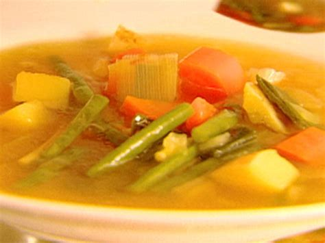 ina garten vegetarian recipes provencal vegetable soup recipe ina garten food network