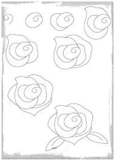 imagenes de rosas dibujadas con lapiz flores dibujadas con lapiz para dise 241 os hermosos dibujos