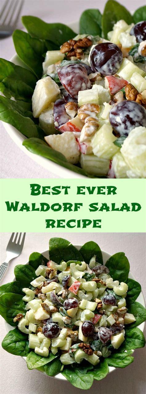 best salad dressing recipe best waldorf salad recipe