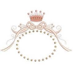 moldura com coroa 10 cm princess scrap amp clips