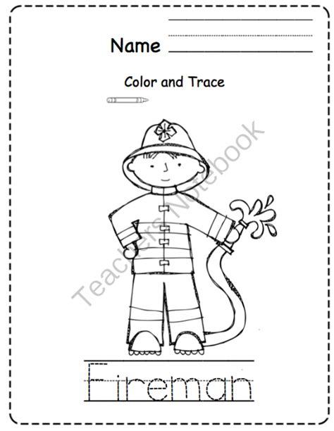 preschool coloring pages community helpers community helper s printable alphabet cards preschool