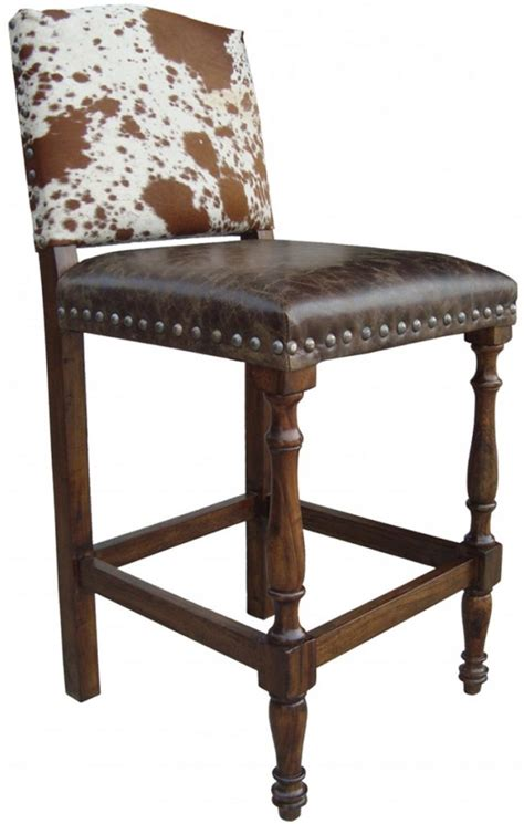 Cowhide Counter Bar Stools by Cowhide Chairs Cowhide Bar Stools Cowhide Ottomans