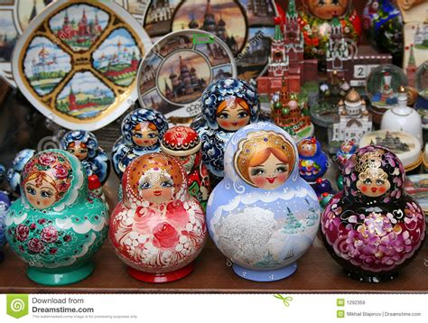 traditional russian gifts russian souvenirs 1 royalty free stock images image 1292359