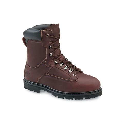 wing steel toe boots for s worx 174 by wing 174 shoes 5428 8 quot steel toe eh