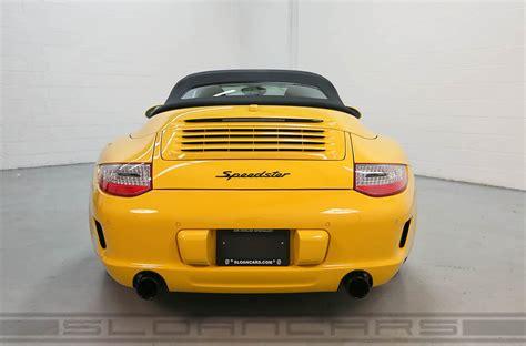 porsche 997 speedster for sale πωλείται μια porsche 911 997 speedster με 1 456 χλμ