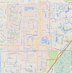 where is margate florida on map margate florida map