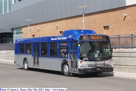 West Edmonton Mall Garage by Edmonton Transit System 2012 New Flyer D40lfr S 4876 4879