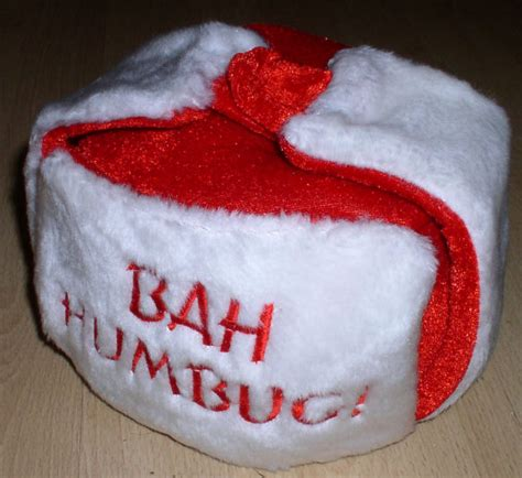 humbug red hats style santa hat