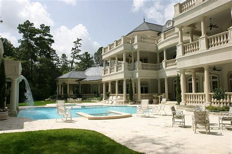 the woodlands home designer houston texas house plans 19 million 30 000 square foot mega mansion in the