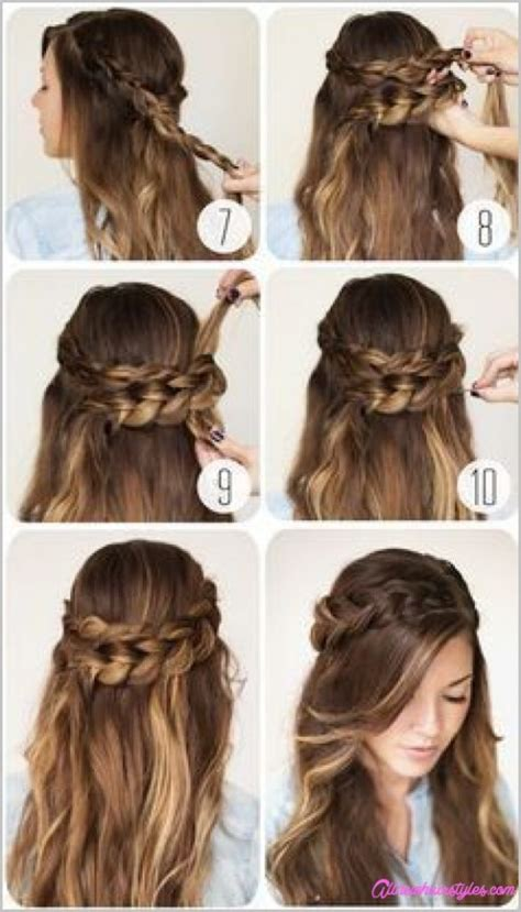 Hairstyles For Hair For For School by Updos For Hair For School Allnewhairstyles