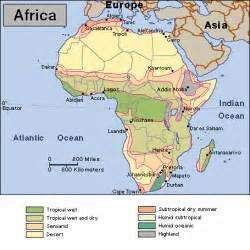 Climate Map Of Africa by Climate Map Of Africa