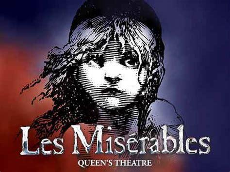 entradas los miserables los miserables musical londres opini 243 n y entradas baratas