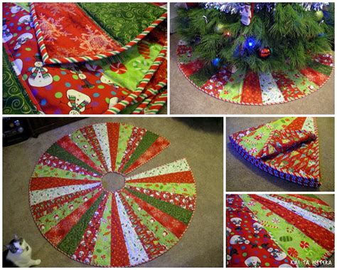 kai ta hetera quilted christmas tree skirt