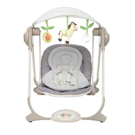 chicco swings chicco polly swing available at w h watts nursery store