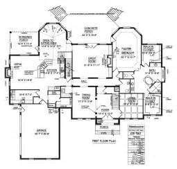 Luxury Home Floor Plans Dream Home Floor Plans Floor Floor Plans For Houses