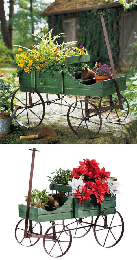 decorative garden wagon cart indoor outdoor decor