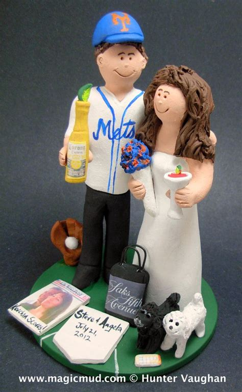 gifts for mets fans 116 best baseball wedding cake toppers images on pinterest