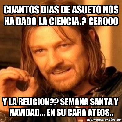 Memes De Religion - memes semana santa ateos