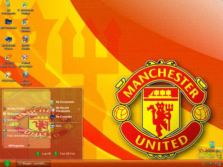 gmail themes manchester united manchester united theme for windows xp