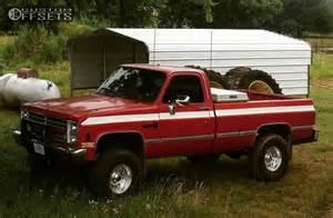 1987 Chevrolet V20 1987 Chevrolet V20 Weld Racing Single Superlift