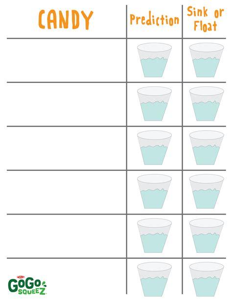 sink or float worksheet sink or float density worksheet