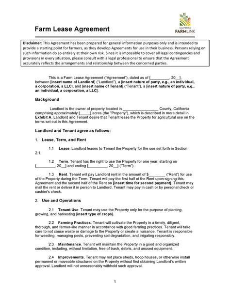 california civil code section 1951 2 free california farm cash lease agreement pdf word
