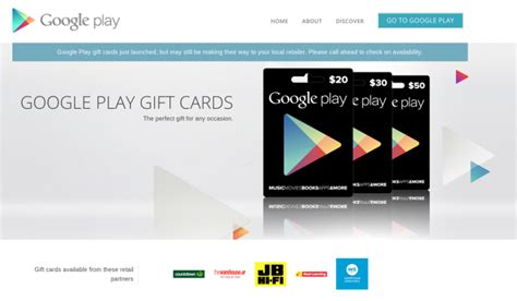 Google Play Gift Card Nz - google play gift cards now hitting store shelves in new zealand