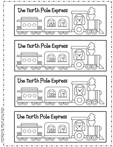 printable polar express tickets kindergarten 153 best images about train on pinterest free printable