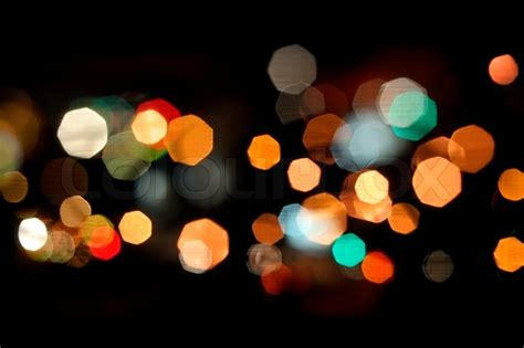 Diwali Home Decoration Lights by Photo Of Bokeh Lights On Black Background Stock Photo