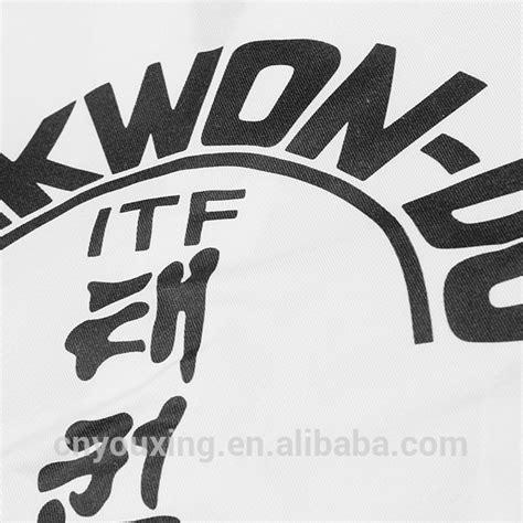 Seragam Taekwondo By Arsa Sport itf taekwondo dobok from china murah itf taekwondo