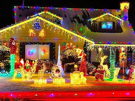top 3 christmas light displays across america youtube