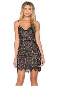 for love amp lemons vika mini dress in black revolve