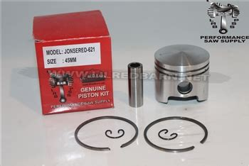 Jonsered 621 45mm Piston Kit Replaces Part 504411600